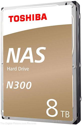 Toshiba N300 8TB NAS 3.5-Inch Internal Hard Drive