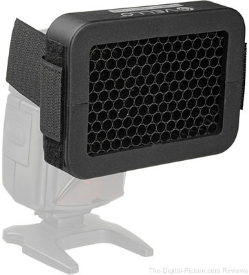Vello 1 4in Honeycomb Grid for Portable Flash