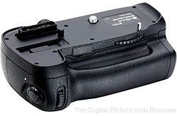 Vello BG-N10 Battery Grip For Nikon D600 In Stock