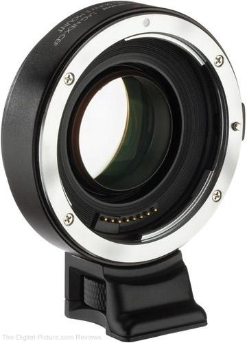 Vello Canon EF or Nikon F Lens to Sony E-Mount Camera Accelerator AF Lens Adapter
