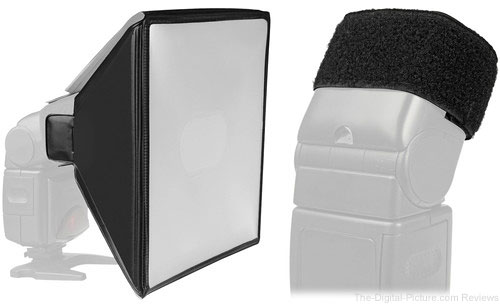 Vello Flash Softbox with Cinch Band (Large) - $13.90 Shipped (Reg. $33.90)