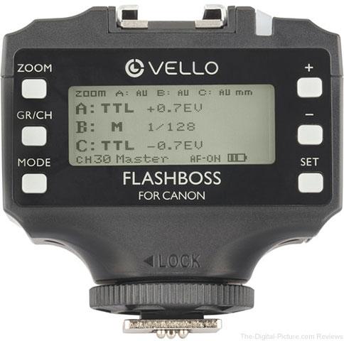Vello FlashBoss TTL Transceiver for Canon/Nikon