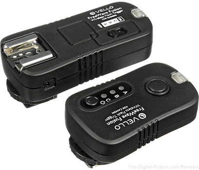 Vello FreeWave Fusion Wireless Flash Trigger & Remote Control for Canon/Nikon