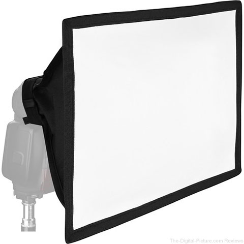 """Vello Softbox for Portable Flash (Large, 8 x 12"""") - $17.95 Shipped (Compare at $34.95)"""