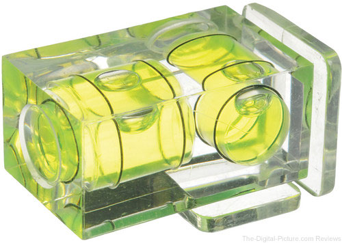 Vello Two-Axis Hot-Shoe Bubble Level