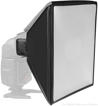 Vello Universal Softbox for Portable Flash (Large) - $12.95 Shipped (Reg. $24.95)