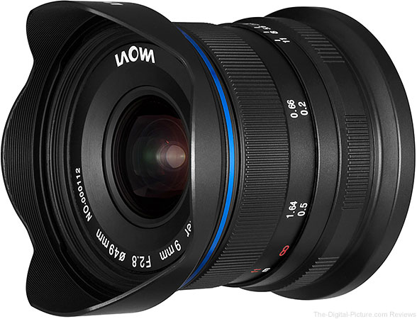 Venus Optics Laowa 9mm f/2.8 Zero-D for APS-C Mirrorless Cameras