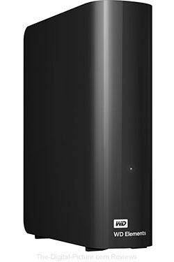 WD 6TB Elements Desktop USB 3.0 External Hard Drive