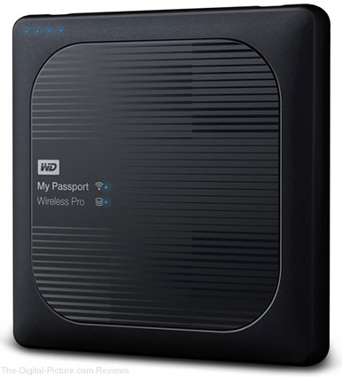 WD My Passport Wireless Pro External Hard Drive
