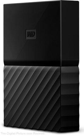 WD 4TB My Passport USB 3.0 Secure Portable Hard Drive (Black)