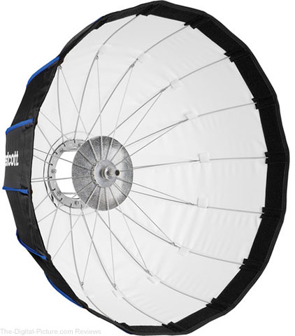 "Westcott Rapid Box Beauty Dish (24"", for Bowens)"