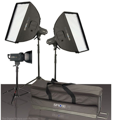 Westcott Strobelite Plus Three Monolight Kit