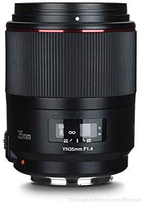 Yongnuo 35mm f/1.4 Lens