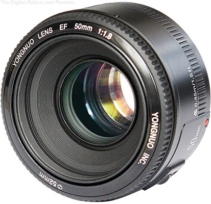 Yongnuo 50mm f/1.8 Lens for Canon In Stock at B&H