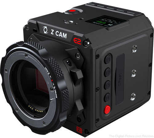 Z CAM E2-F8 Professional Full-Frame 8K Cinema Camera