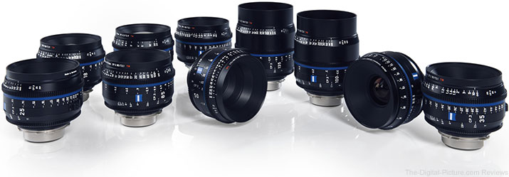 Zeiss CP.3 Cine Lenses