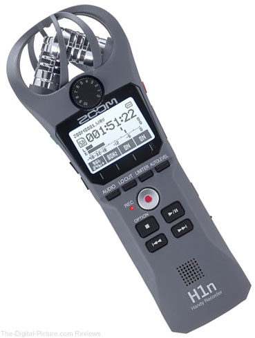 Zoom H1n Digital Handy Recorder (Gray)