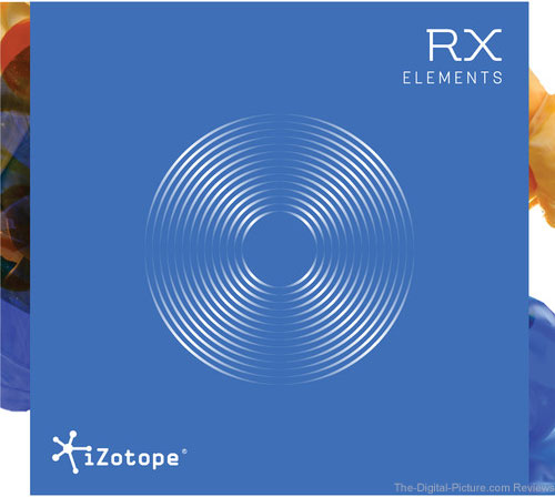 iZotope RX Elements Audio Restoration and Enhancement Software