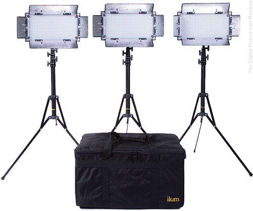ikan IB508-v2 Bi-Color LED 3-Light Studio Kit  - $999.00 Shipped (Reg. $1,699.00)
