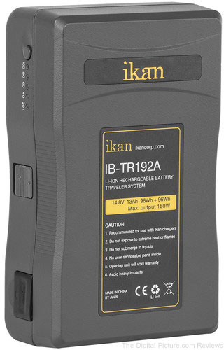 ikan Traveler Series Li-Ion Pro 14.8V 192Wh Two-Part Battery (Gold Mount)