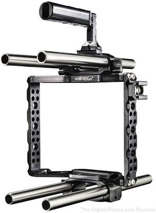 walimex Pro Aptaris Camera Cage for Blackmagic Cinema Camera, DSLRs & Mirrorless Cameras