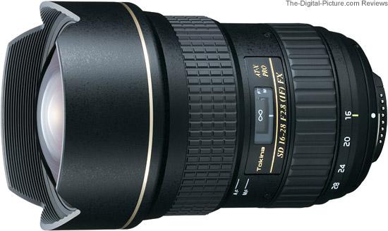 Tokina AT-X 16-28mm f/2.8 PRO FX Lens