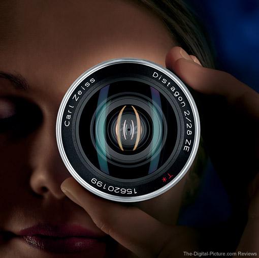 Zeiss Distagon T* 28mm f/2 ZE Lens