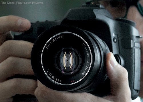 Zeiss Distagon T* 35mm f/2 ZE Lens Press Release