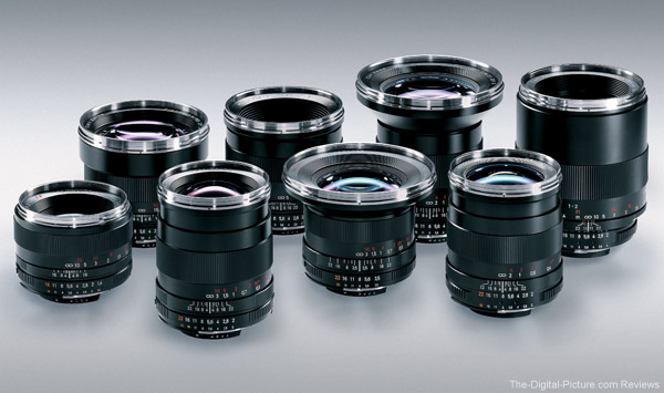 Zeiss Focuses on Successful DSLR Lens Series