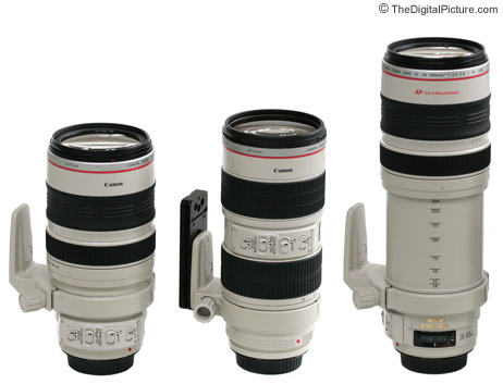 Canon 28-300 Lens Size Comparison