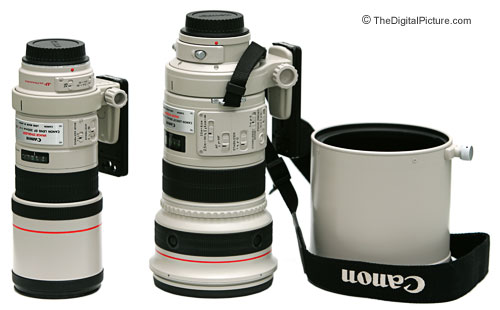 Canon 300mm Lens Comparison Picture
