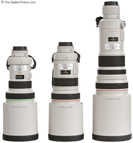 Canon 400mm DO Lens Comparison