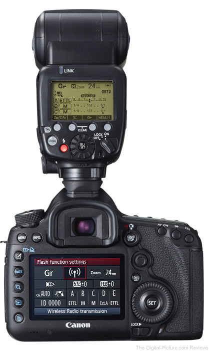 Canon Speedlite 600EX-RT Flash on Canon EOS 5D Mark III