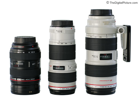 Canon 70-200 Lens Size Comparison