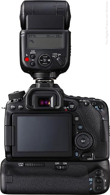 Canon BG-E14 Battery Grip on Canon EOS 80D