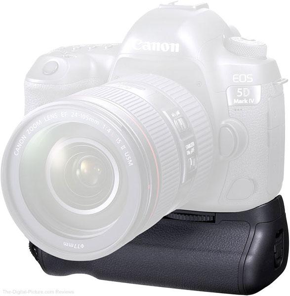 Canon BG-E20 Battery Grip on Canon EOS 5D Mark IV