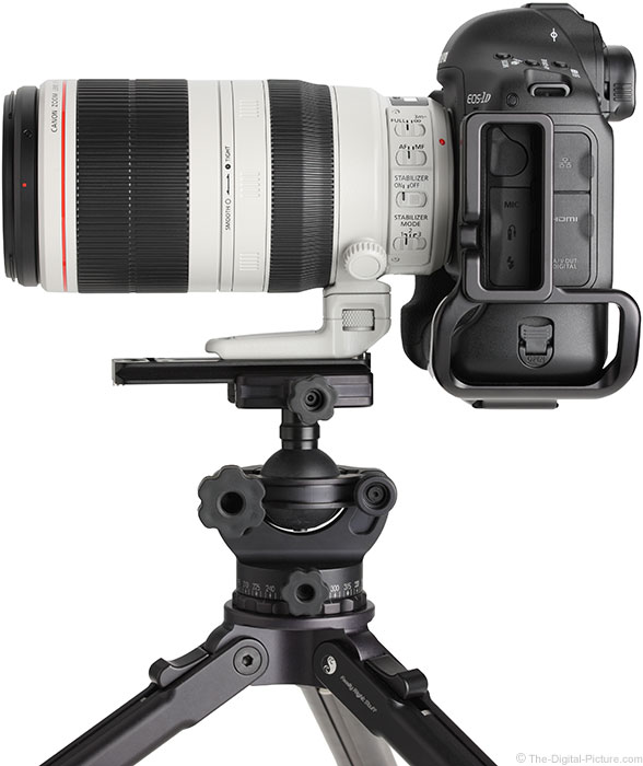 Canon EF 100-400mm L IS II USM Lens – Side View
