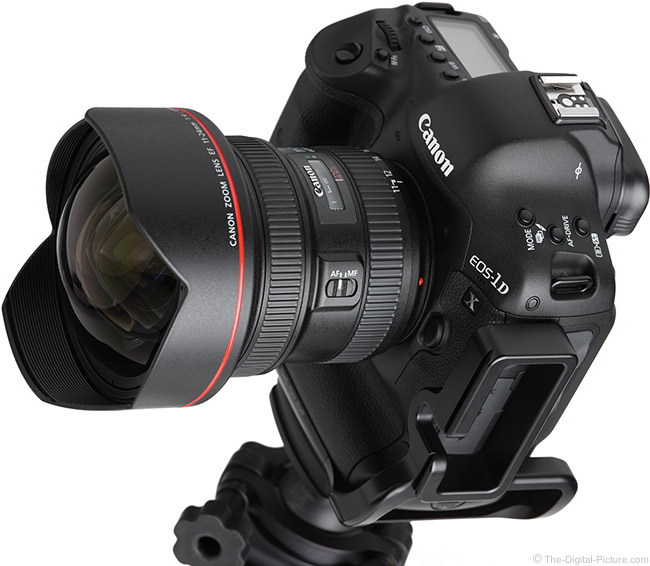 Canon EF 11-24mm f/4L USM Lens Angle View
