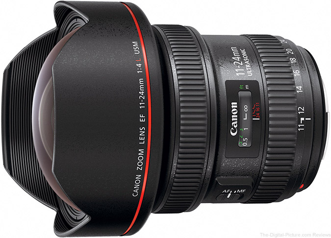 Just Announced: Canon EF 11-24mm f/4L USM Extreme Wide Angle Lens