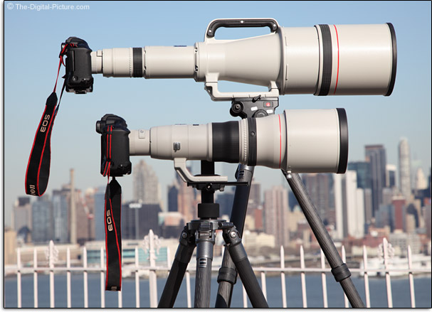 Canon EF 1200mm f/5.6L USM Lens Mounted on EOS 1Ds Mark III