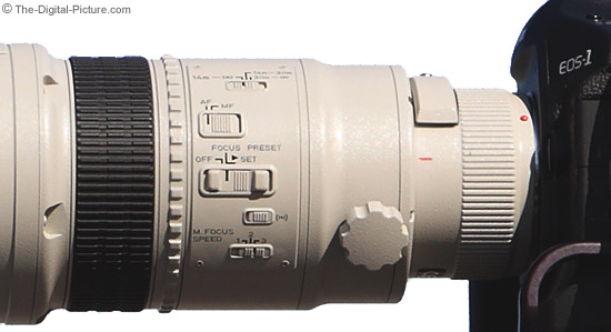 Canon EF 1200mm f/5.6L USM Lens Lens Barrel Close-Up