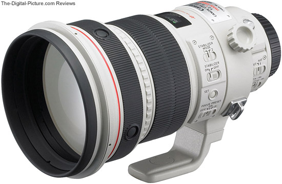 200mm f/2L IS
