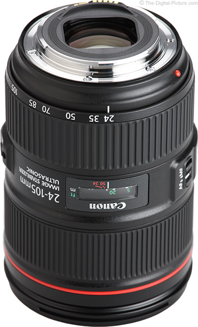Canon EF 24-105mm f/4L IS II USM Lens Mount