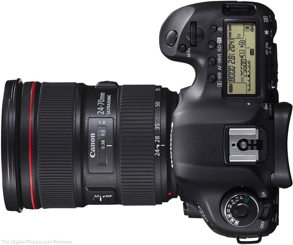 Canon EF 24-70mm f/2.8 L II USM Lens on Canon EOS 5D Mark III