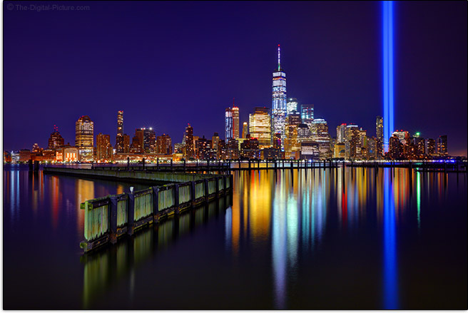 New York City Tribute Lights Sample Picture