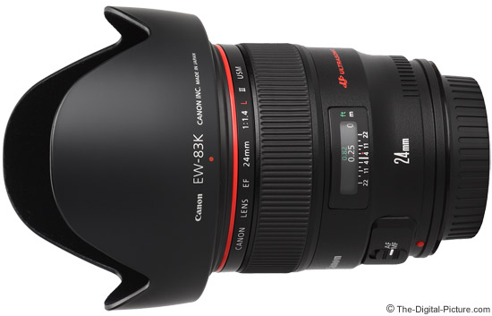 Canon EF 24mm f/1.4L II USM Lens Product Images
