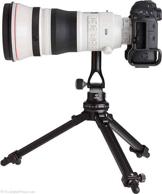 Canon EF 400mm f/2.8L IS III USM Lens Side View