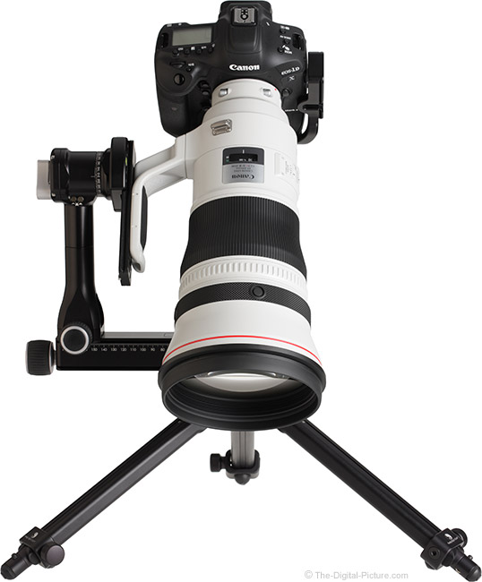 Canon EF 400mm f/2.8L IS III USM Lens on Tripod