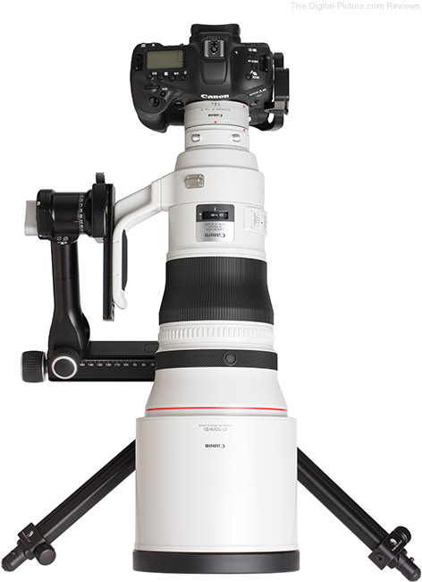 Canon EF 400mm f/2.8L IS III USM Lens with Teleconverter