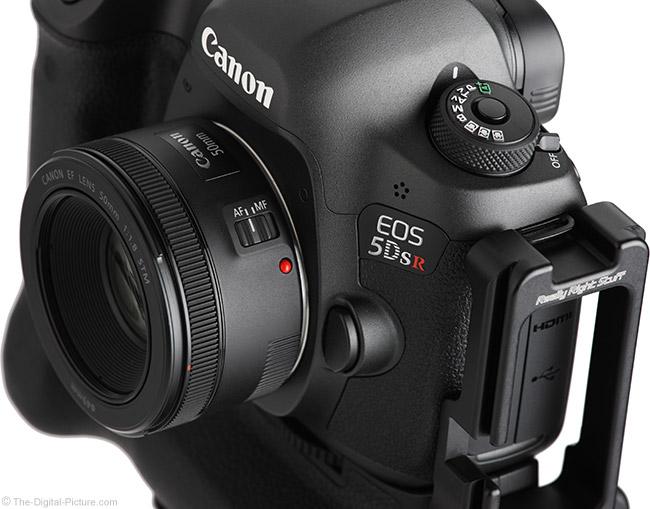 Canon EF 50mm f/1.8 STM Lens Angle